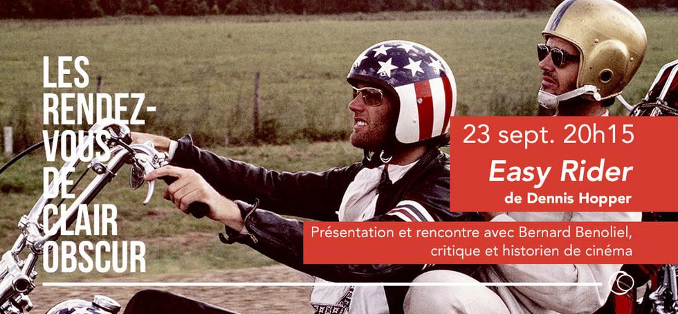 Easy Rider de Dennis Hopper présenté par Bernard Benoliel